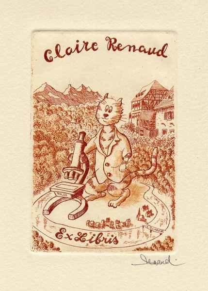 EL-8 Claire Renaud, 9x12