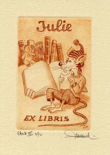 Julie, 9x12